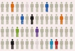 No todos los pacientes responden del mismo modo al tratamiento con un fármaco. La farmacogenética estudia cómo las diferentes variantes genéticas de las personas influyen en su respuesta a los fármacos. Imagen: A.Tolosa (MedigenePress S.L.).