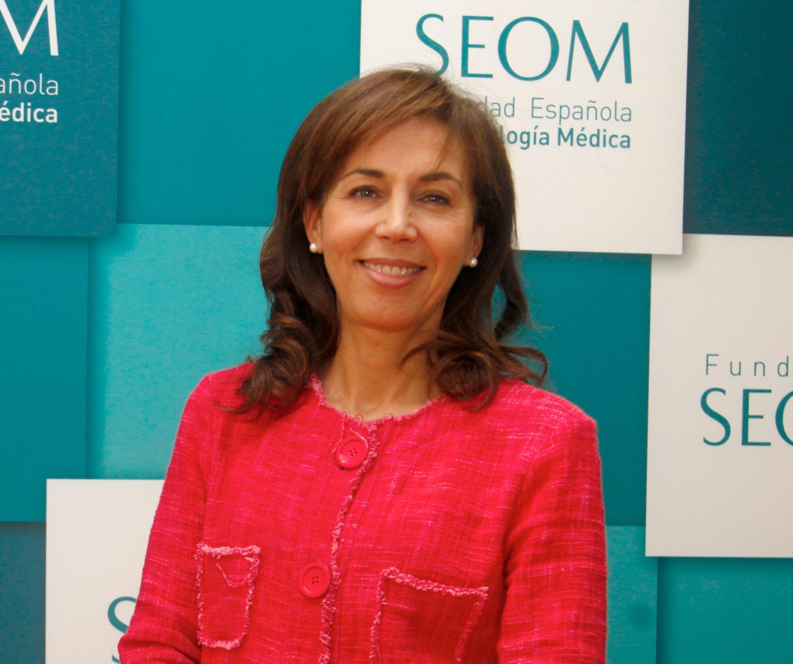 Pilar Garrido. Imagen cortesía de la Sociedad Española de Oncología Médica.