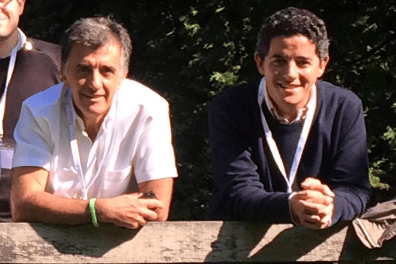 Luis Blanco y Ángel Picher. Imagen cortesía de Luis Blanco.