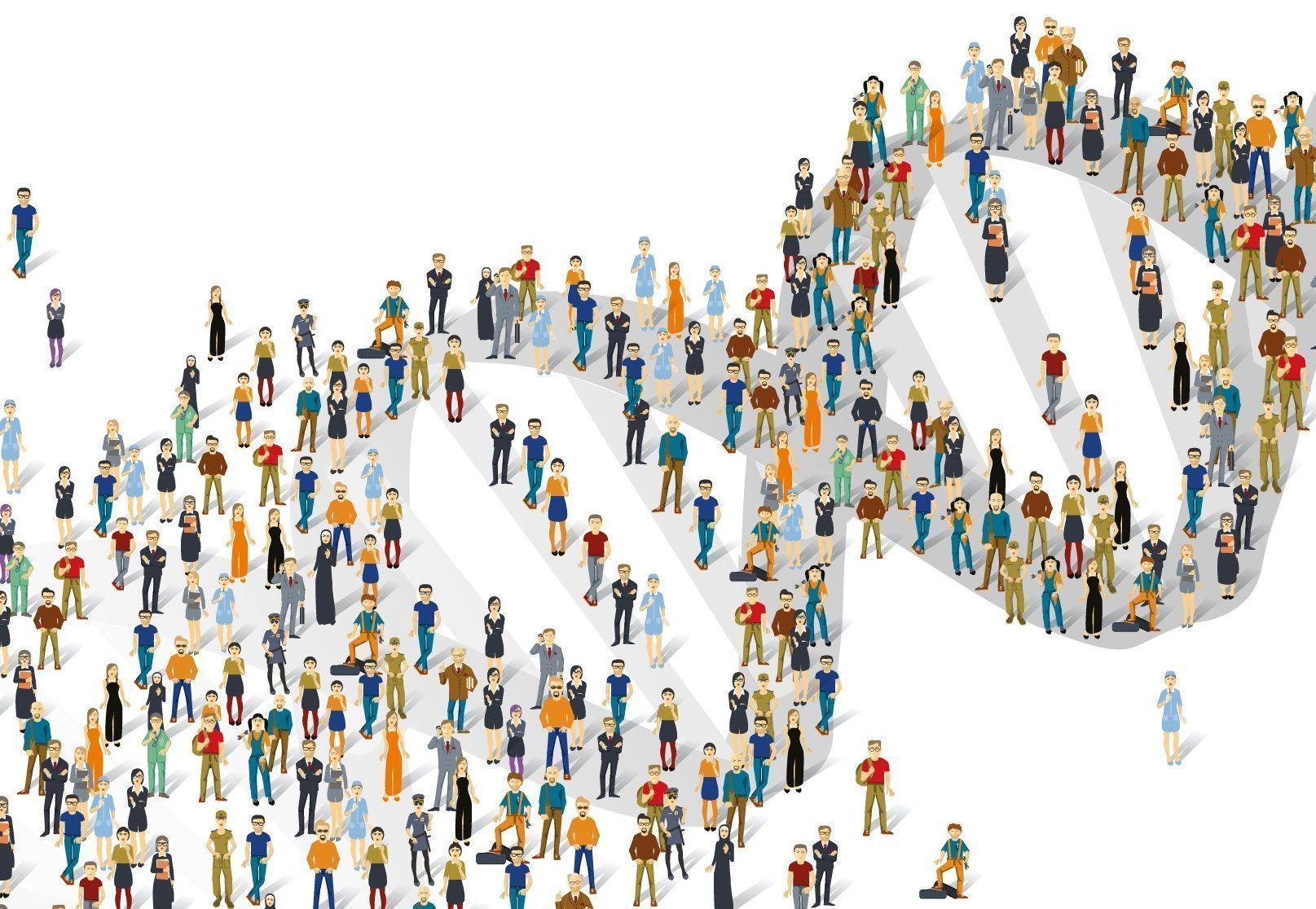 La combinación de historiales médicos electrónicos y resultados de pruebas genéticas tiene el potencial de permitir adaptar el tratamiento a cada paciente. Imagen: Larry Leja. https://www.genome.gov/.