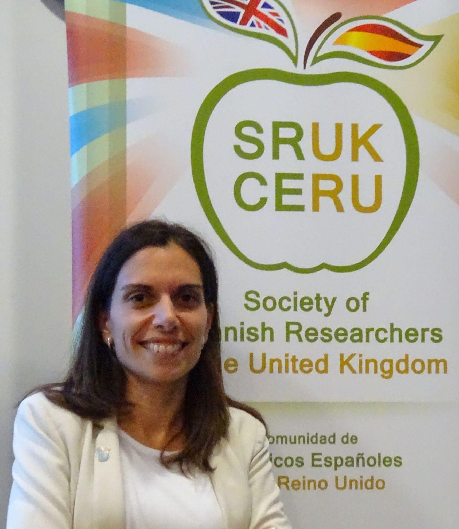 María Jiménez Sánchez, presidenta de SRUK/CERU e investigadora principal en el King's College London. Imagen: SRUK-CERU.
