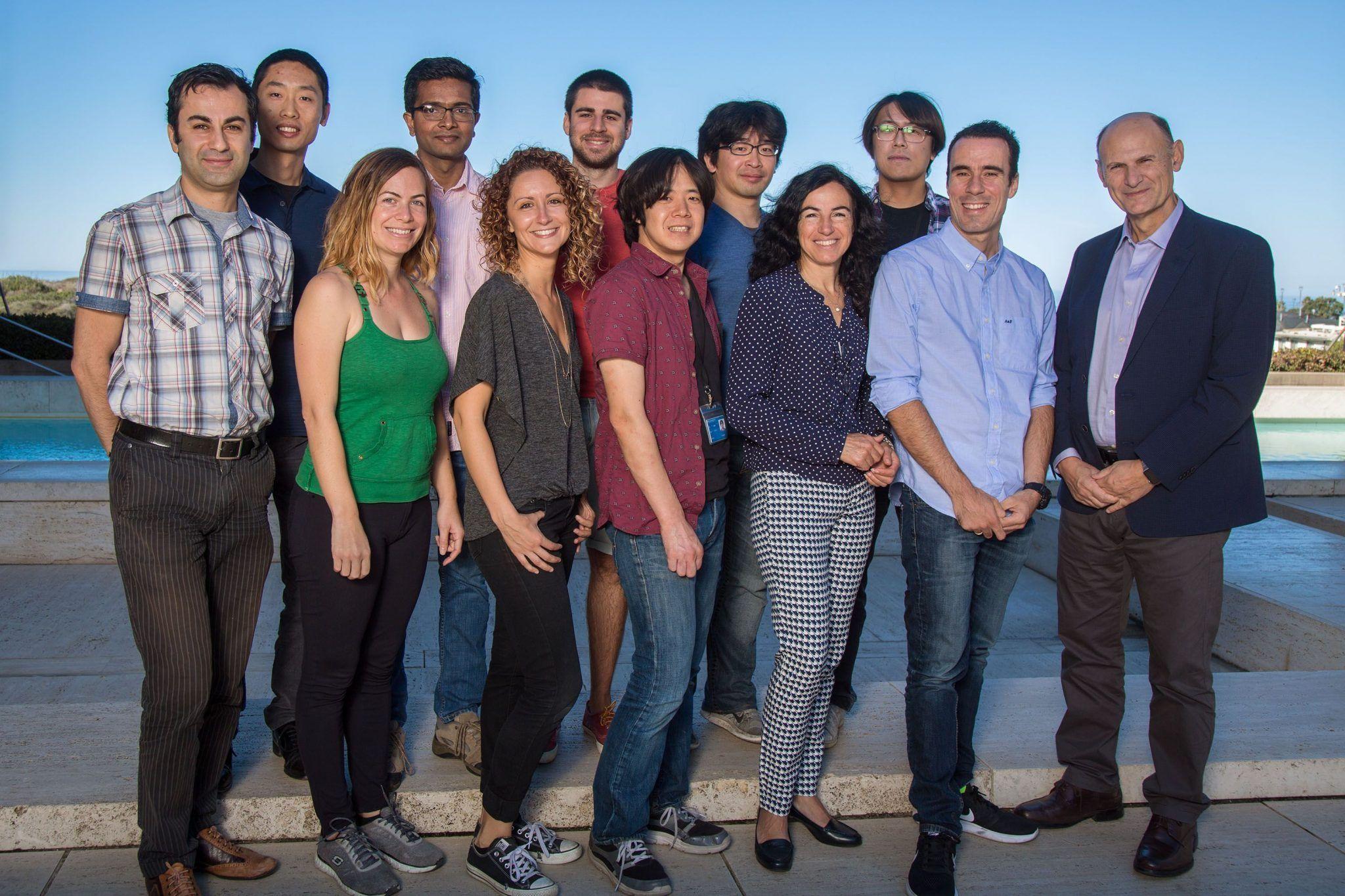 Miembros del equipo de investigación de Juan Carlos Izpisúa Belmonte. Imagen cortesía del Instituto Salk de Estudios Biológicos.