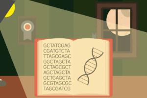 Novela genética título
