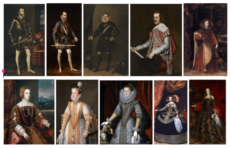 Dinastía Habsburgo.