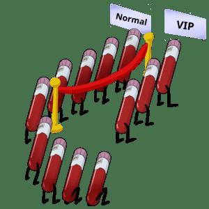 tubos, sangre, muestras, cola