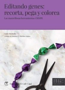 """""""Editando genes: recorta, pega y colorea"""" es un libro más que recomendable para todo aquel interesado en la edición del genoma. Es un libro de referencia."""