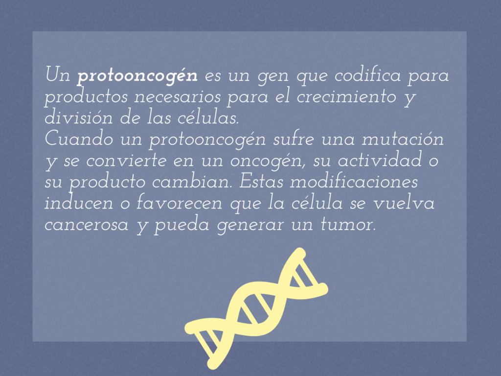 oncogén, protooncogén, definición, ADN