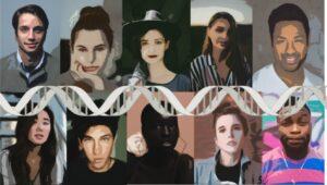 genética rostro humano